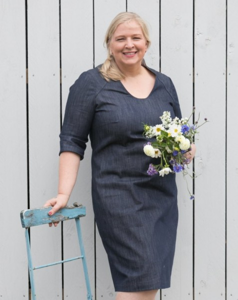 Kleid aus Jeansstoff
