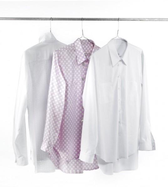 Drei Varianten des Hemdenschnittmusters