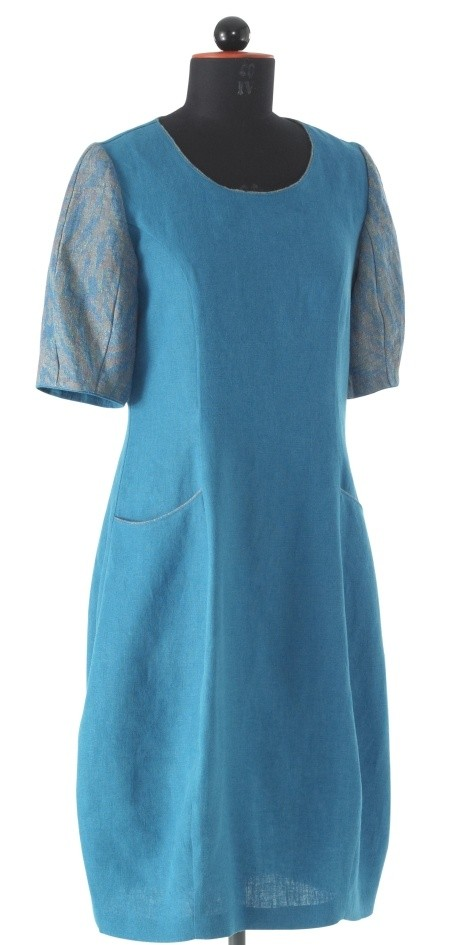 Schnittmuster Kleid in Tulpenform | Zwischenmass-Schnittmuster ...