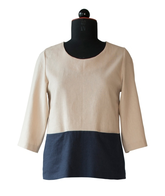 Schnittmuster Bluse mit Taschen | Zwischenmass-Schnittmuster Onlineshop