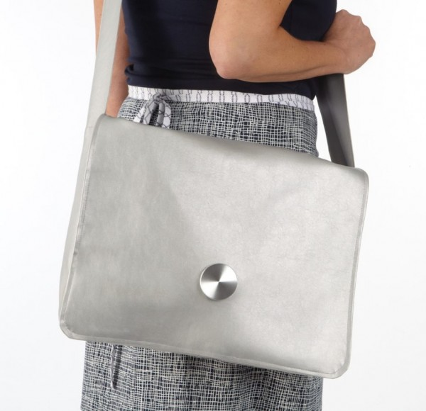 Laptoptasche aus Lederimitat